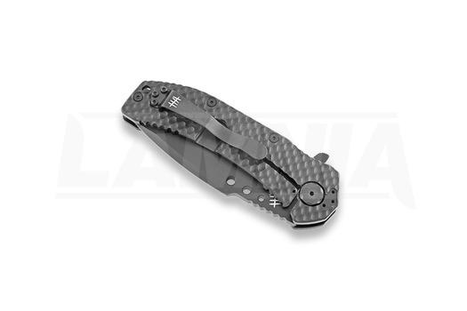 Hardcore Hardware MILF-03 TiNi sulankstomas peilis, tanto, juoda