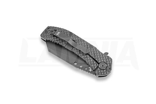 Hardcore Hardware MILF-04 TiNi sulankstomas peilis, wharncliffe, dark earth