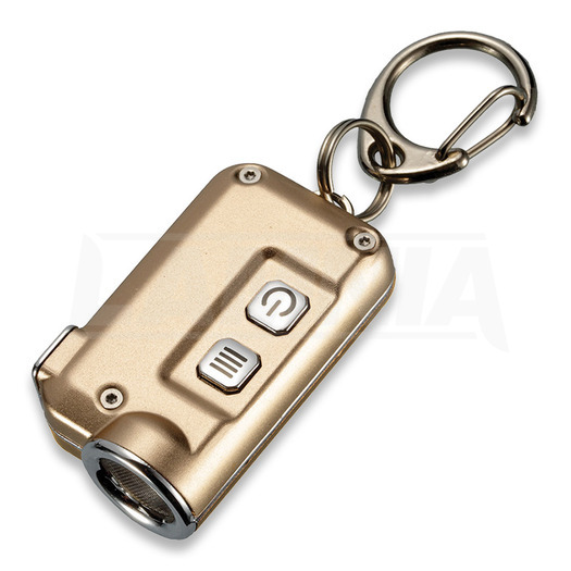 Nitecore TINI Keychain LED Light Gold