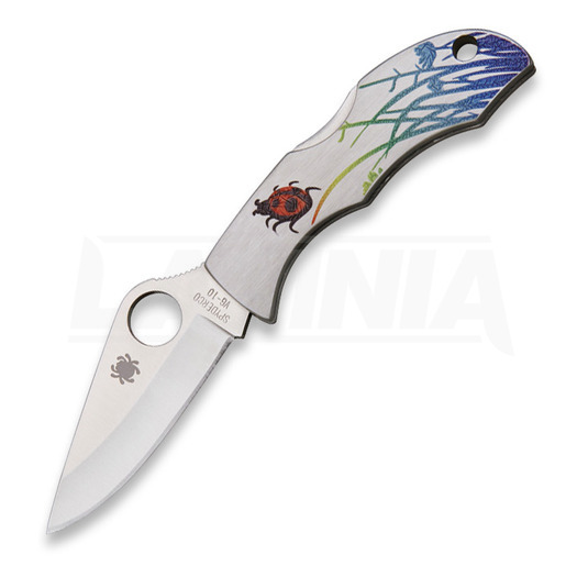Spyderco Ladybug 3 Tattoo folding knife