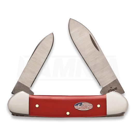 Case Cutlery American Workman Canoe sulankstomas peilis 13455
