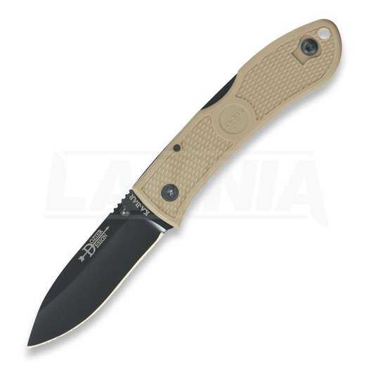 Ka-Bar Dozier Folding Hunter 折叠刀, coyote brown