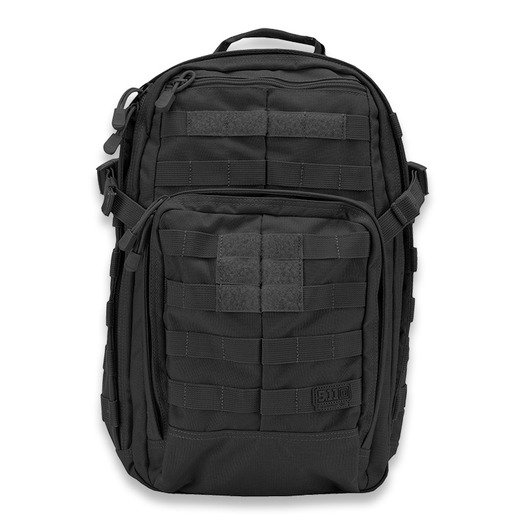 Mugursoma 5.11 Tactical Rush 12 Pack, melns