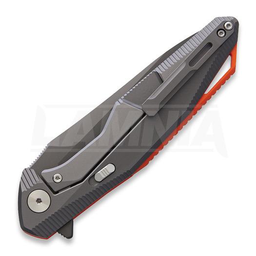 Rike Knives Kwaiken Framelock 154CM סכין מתקפלת, כתום