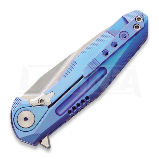Rike Knives Thor 4 Framelock M390 סכין מתקפלת, כחול