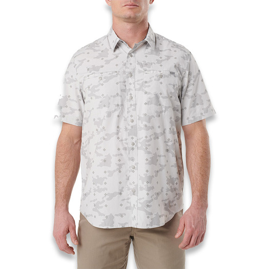 5.11 Tactical Crestline Camo S/S Shirt, pebble 71377-257