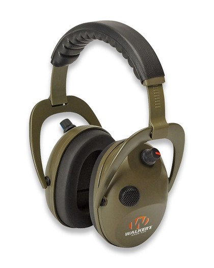 Walker's Game Ear Alpha Power Muffs D-Max 귀마개, 초록