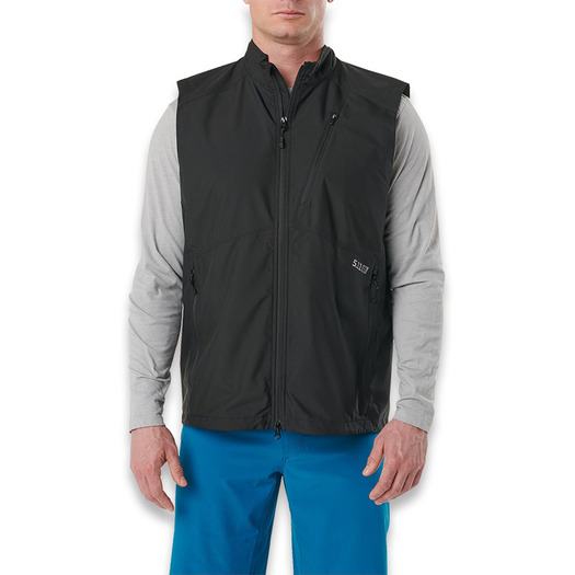5.11 Tactical Cascadia Windbreaker vest, שחור 80024-019