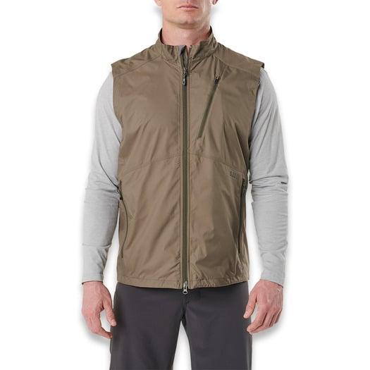 5.11 Tactical Cascadia Windbreaker vest, stampede 80024-172