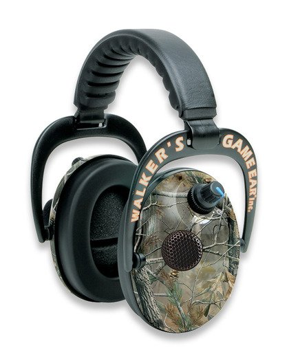 Walker's Game Ear Power Muffs earmuffs, camo