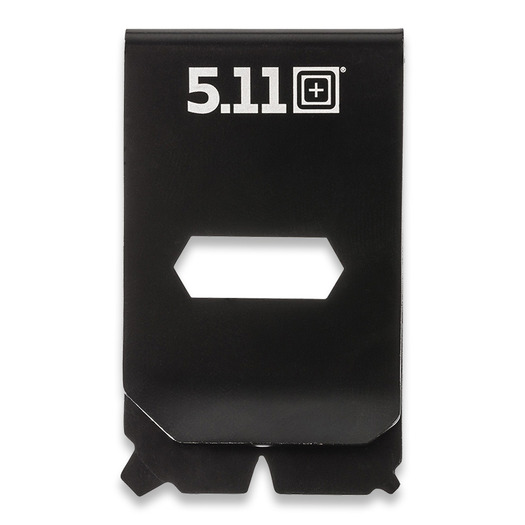 5.11 Tactical Utility Money Clip Multitool, black oxide