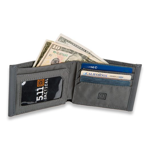 5.11 Tactical Bifold Wallet, storm