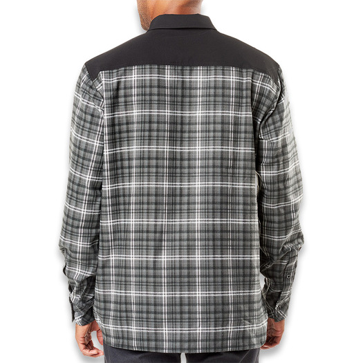 5.11 Tactical Endeavor Flannel shirt, charcoal PLD 72468-084