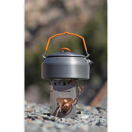 EmberLit FireAnt Titanium Camping Stove