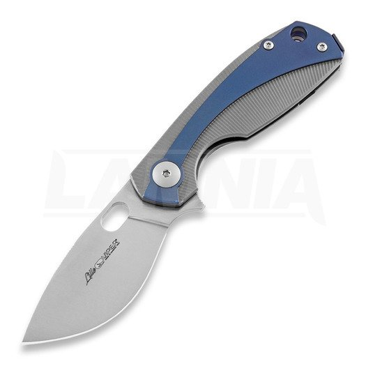 Viper Lille Titanium folding knife, blue V5962TIBL