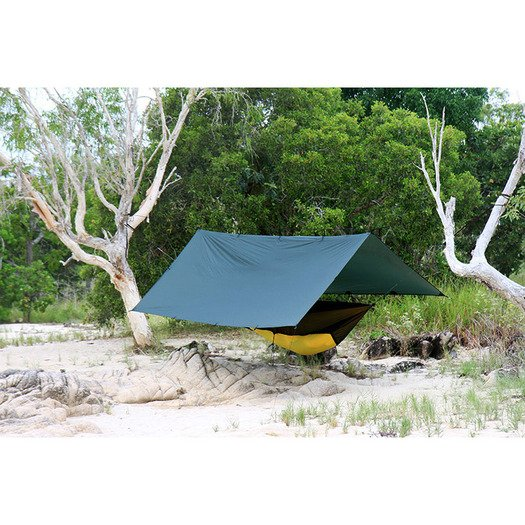 DD Hammocks SuperLight Tarp, 緑