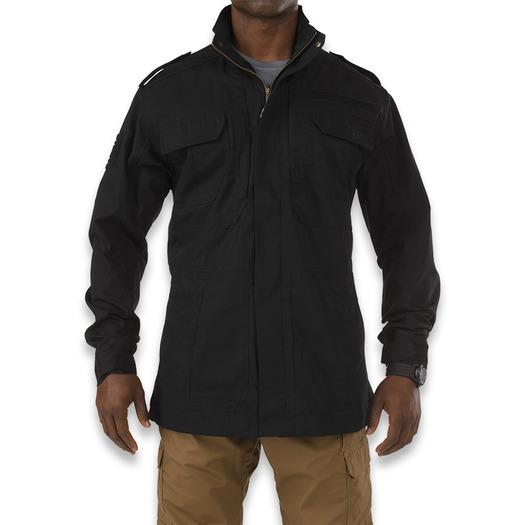 5.11 Tactical Taclite M-65 jacket, juoda 78007-019