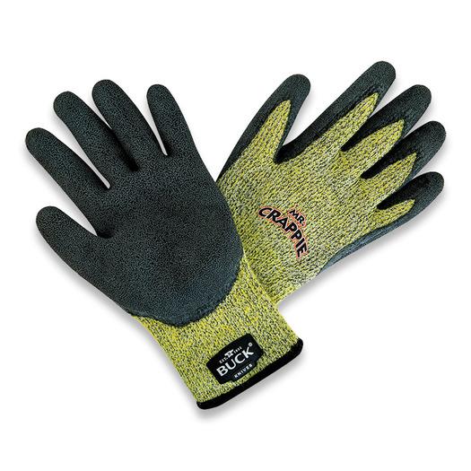 Buck Mr Crappie Fishing Gloves כפפות עמידות מפני חתכים