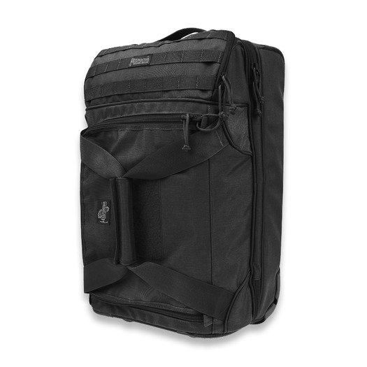 Saco Maxpedition Tactical Rolling Carry-On Luggage, preto