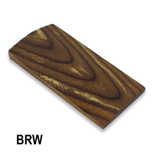 CWP Laminated Blanks BRW - Varied brown tukkiaihio, koko 1040 x 150 x 55 mm