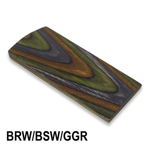 CWP Laminated Blanks BRW/BSW/GGR - Camo single stock profile