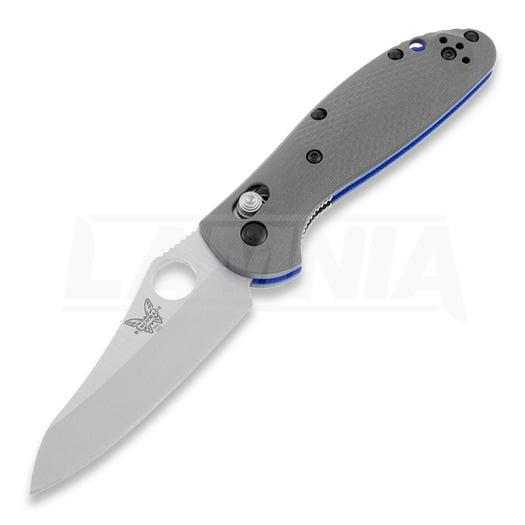 Skladací nôž Benchmade Mini-Griptilian G10, otvor