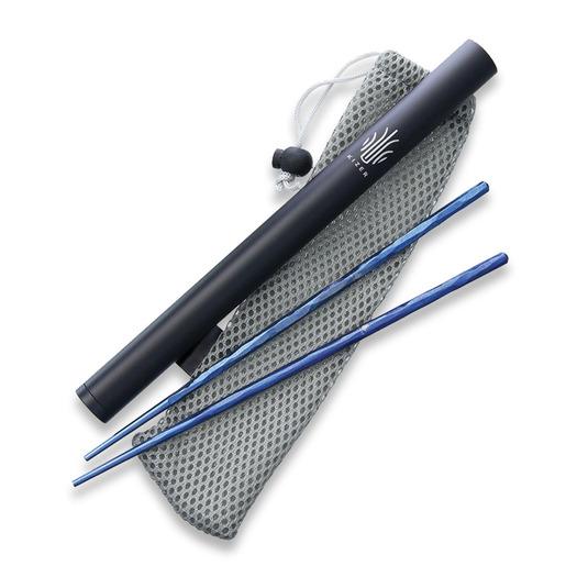Kizer Cutlery Chopsticks Titanium Blue