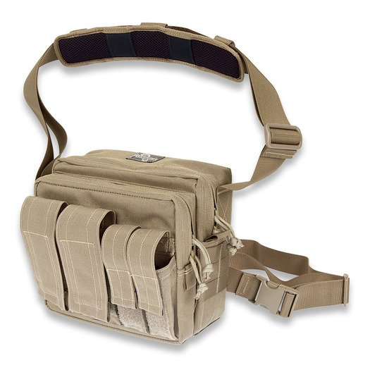 Maxpedition Active Shooter Bag skulderveske, khaki