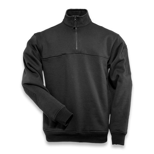 5.11 Tactical Job Shirt 1/4 Zip, juoda 72314-019