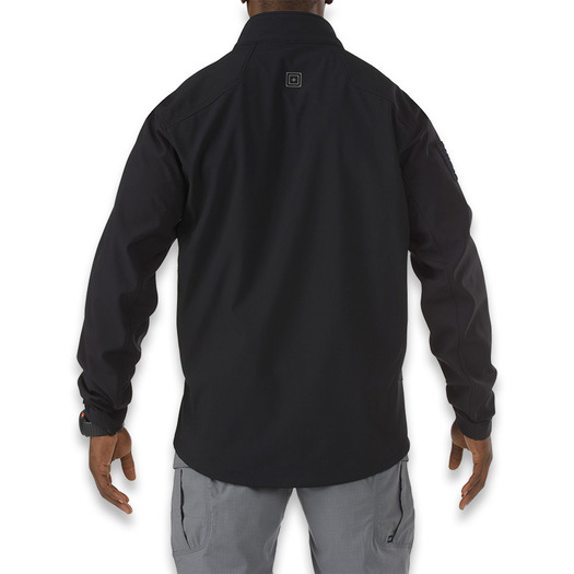 5.11 Tactical Sierra Softshell jacket, juoda 78005-019