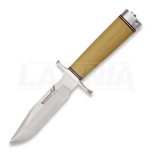 BlackJack Model 5 סכין, Stacked Leather