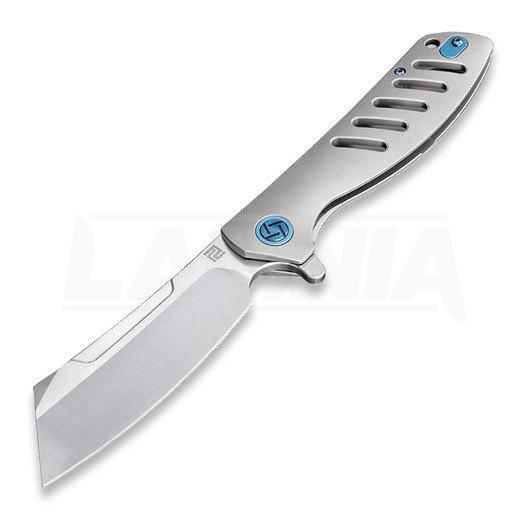 Artisan Cutlery Tomahawk Framelock M390 Taschenmesser, grau