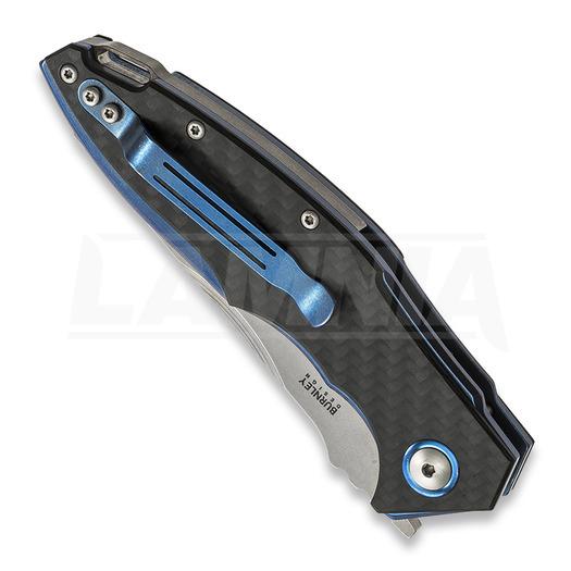 MKM Knives Raut front flipper Carbon Fibre סכין מתקפלת