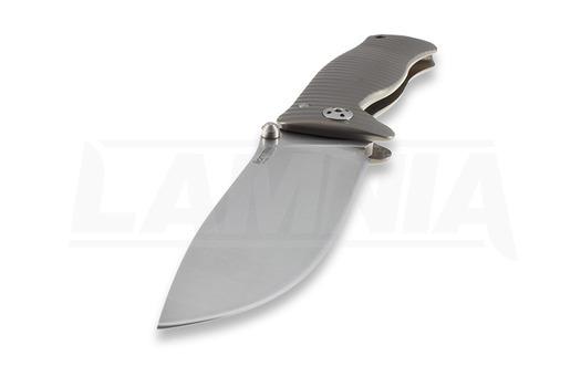 Couteau pliant Lionsteel SR1 Titanium, bronze