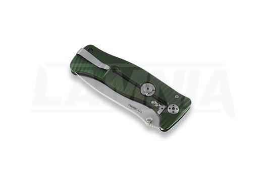 Coltello pieghevole Lionsteel SR1, verde