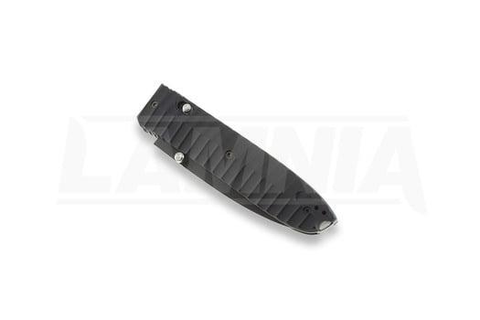 Coltello pieghevole Lionsteel Daghetta Aluminum, nero