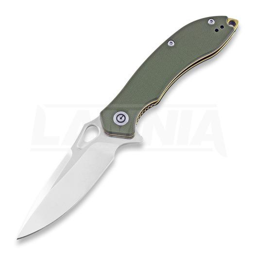 CIVIVI Aquila Satin סכין מתקפלת, ירוק C805B