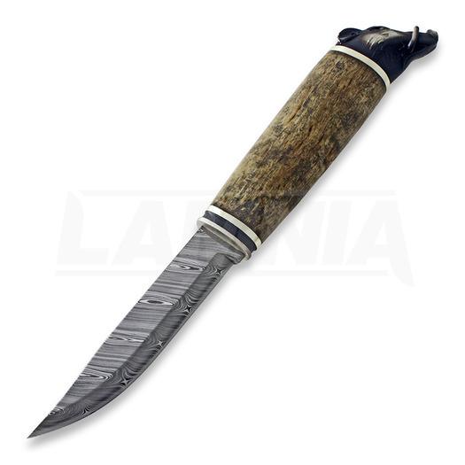 Marttiini Wild Boar Silver Damascus LAMNIA EDITION kés 546016W