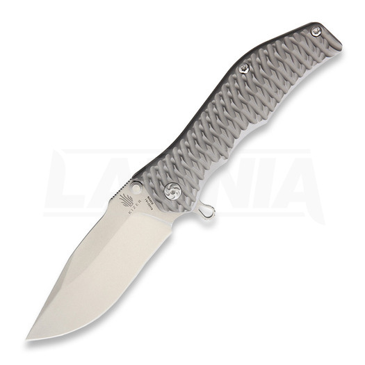 Kizer Cutlery Gunhammer Framelock folding knife, drop point