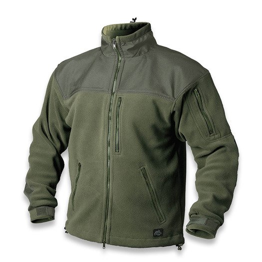 Helikon-Tex Classic Army Fleece jacket, žalia