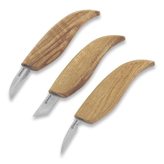 BeaverCraft Starter Wood Carving Knife Set S12