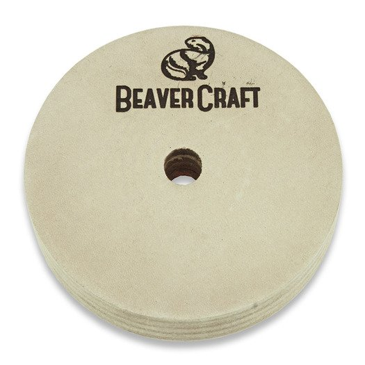 BeaverCraft Polishing Wheel with P1 polishing compound PW1