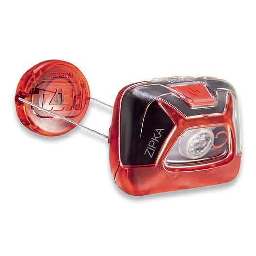 Petzl Zipka Led 200 Lum hoofdlamp, rood