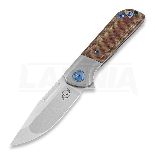 Liong Mah Designs Lanny Micarta folding knife