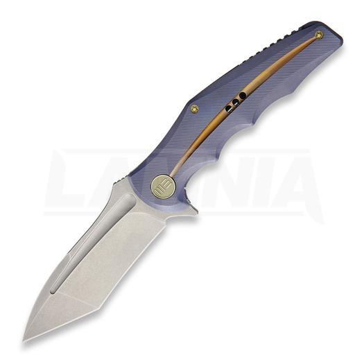 We Knife 608 Tanto sulankstomas peilis, stonewash 608