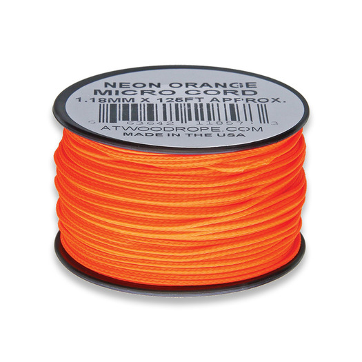 Atwood Micro Cord 38m Neon Orange