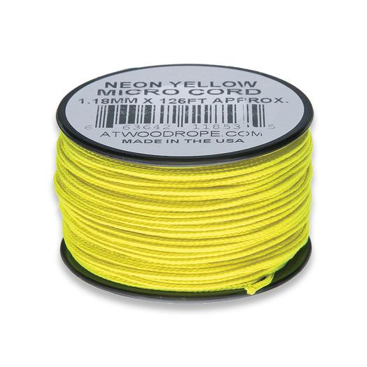 Atwood Micro Cord 38m Neon Yellow