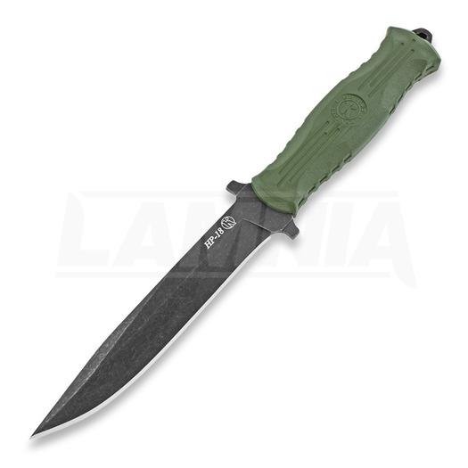 Kizlyar (Кизляр) HP-18 סכין, ירוק