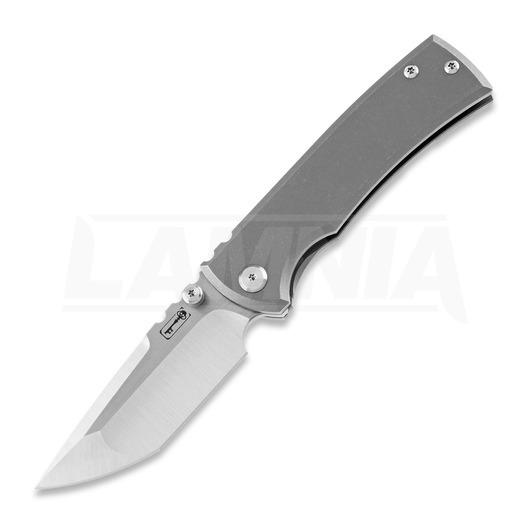 Chaves Knives Redencion Street Tanto folding knife, Ti