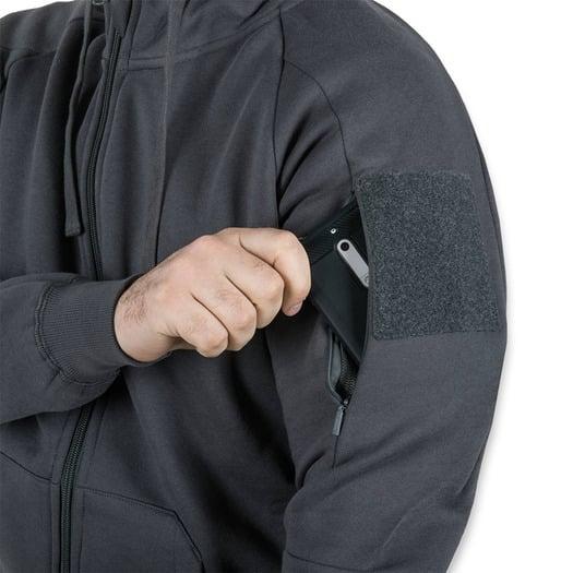 Helikon-Tex Urban Tactical Hoodie Lite FullZip, pilka